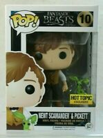 Funko Pop! Fantastic Beasts Newt Scamander and Pickett #10 Hot Topic Exclusive