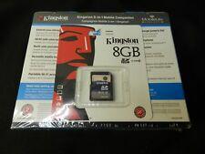 Kingston Mobile Companion 5 in 1 - USB Reader - 4640 mAh battery w/ 8 GB SD Card