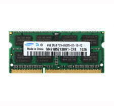 For Samsung 4GB 2RX8 DDR3 1066MHz PC3-8500S 204PIN SO-DIMM Laptop RAM Chipset @#