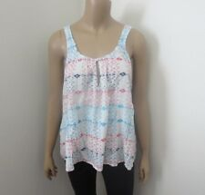 NEW Hollister Womens Printed Tank Top Size Large