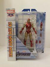 Marvel Diamond Select Avengers Endgame Iron man Mk85 Figure IN HAND