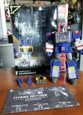 New listing Hasbro Transformers Titans Return Soundwave Complete - Mib
