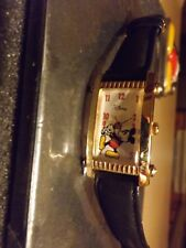 Mens Vintage Fossil Disney Parks Mickey Mouse Watch (Mickey with Wrench)VHTF-New