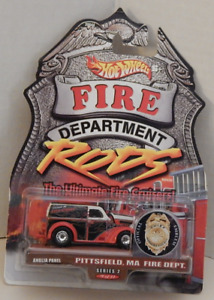 Anglia Panel 1949 Ford Truck Hot Wheels Fire Department Rods Pittsfield MA
