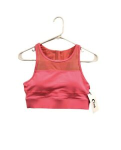 Zyia Active All Star Sports Bra In Coral Size Medium NWT