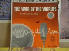 WAR OF THE WORLDS INVASION FROM MARS - LP LPA 2355 HG WELLS