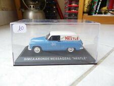 Simca Aronde Messagère Nestlé Altaya Ixo 1/43 Miniature