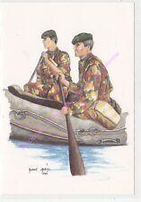 CP MILITARIA R AUBRY Costumes Militaires régiment  para commando canoe 1986