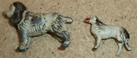 Vintage Britains metal Dogs