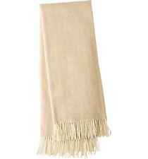 Creswick Australia Alpaca Wool Throw Rug Herringbone Creme 137x182cm RRP $299.95