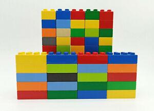 LEGO Duplo 70x Grundbausteine - 50x 4er u 20x 8er Steine - Noppensteine, kg