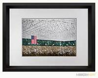 "Mies Van Der Rohe LTD Lithograph -Convention Hall, Chicago 1953 ~ FRAME 18x24"""