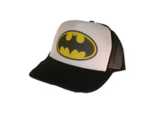 Batman movie hat Trucker Hat Mesh Hat black new adjustable