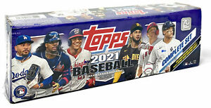 2021 Topps MLB Baseball Trading Card Complete Set Sealed 660 Cards 1 Chrome New