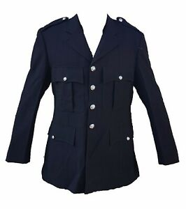 Genuine Ex Police Dress Tunic Jacket Ideal For Theatre Fancy Dress Collector T2