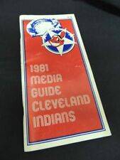 Cleveland Indians Baseball Vintage Sports Media Guides
