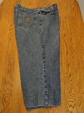 Carhartt Mens Denim Jeans, B17DST, Tag Size 44x30, Measured Size 42x24 FRE SHIP