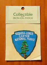 Sequoia-Kings Canyon National Parks Iron-On Embroidered Patch