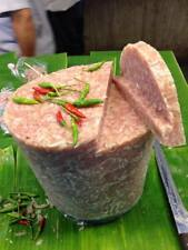Sour pork(Naem,แหนม) 1 KG. pork sausage in Thai cuisine fermented food from CNX