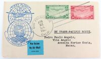 .1937 USA FIRST FLIGHT TO ASIA F.A.M No 14 SAN FRANCISCO TO MACAO UNOPENED COVER