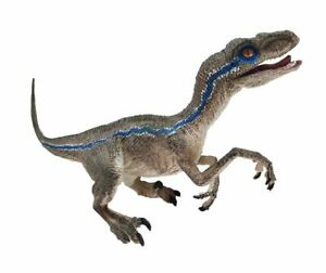 Jurassic Blue Velociraptor Dinosaur Model Action Figure Toy Collection for Kid B