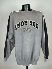 Men's Vintage Indianapolis 500 Indy 500 2004 Gray Cotton Sweatshirt Large