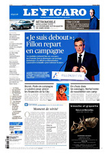 Le Figaro 7.2.2017 N°22550*Je suis debout:FILLON*MERKEL*TRUMP*Tim COOK-APPLE