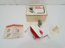 Toyota Vintage Manual Hand Crank Wool Spool Winder - Tabletop Attachment