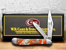 Case xx Peanut Knife Tennessee Orange Genuine Corelon 1/500 9220TN