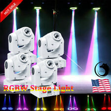 4pcs U`King 70W Beam Stage Lighting LED Moving Head Gobo DMX DJ Club Party Light