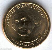U.S.A. 1 Dolar George Washington 2007 P @ PRESIDENTE Nº 1 @