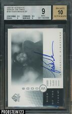 2001 SP Authentic Sign Of The Times Golf Tiger Woods BGS 9 w/ 10 AUTO
