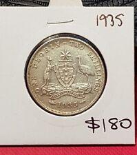 1935 australian florin coin