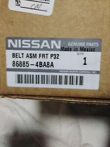 Nissan 86885-4BA8A NEW Seat Belt Lap And Shoulder left side GENUINE