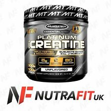 MUSCLETECH PLATINUM 100% CREATINE pure micronized creatine monohydrate 400g