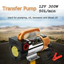 New listing Portable 12V 260W Oil Diesel Fuel Fluid Extractor Electric Transfer Change