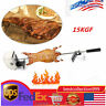 15KGF Stainless Steel Pig Chicken BBQ Spit Rotisserie Roaster Electric Motor TOP