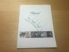 Used in shop - Folleto Booklet CHOPARD - Manufacture - Watches Montres - French