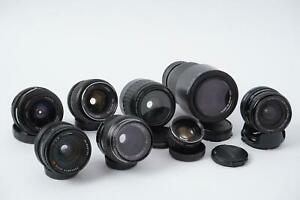Lot of 7x old lens. Including Canon