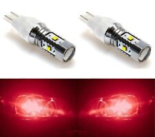 LED Light 30W 921 Red Two Bulbs Back Up Reverse Replacement Lamp OE Plug Play