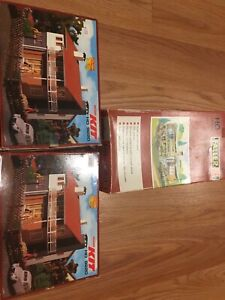 Vollmer HO scale kits and Faller HO scale Executive Home