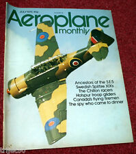 Aeroplane Monthly 1976 July Chilton,Spitfire,Hotspur Glider,Aces High