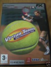 VIRTUA TENIS -Sega Professional tennis - FX interactive