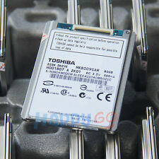 "TOSHIBA MK8009GAH 1.8"" 80GB CE PATA ZIF HDD FOR DELL Latitude XT D420 D430"