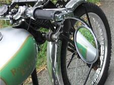 Clásico Motocicleta Bar Mirror End Trajes Ajs 31cs