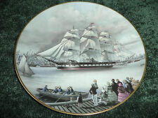 THE GREAT CLIPPER SHIPS COLLECTORS PLATE - 'MARCO POLO' 1981