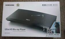 Samsung UBD-K8500 4K Blu Ray / DVD Player Plus 3 Films
