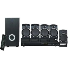 Naxa Nd-859 5.1 Home Theater System - Dvd Player - Black - Dvd+rw, Dvd-rw, Cd-rw