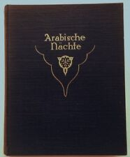 Dulac. - Schellenberg, Ernst Ludwig arabe Nuits. EA 1914