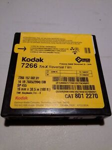 KODAK Tri-X 16mm 100FT 7266 Black & White  Movie Film 8012270 expired 2011